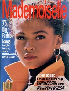 Mademoiselle Magazine cover Sept 1989