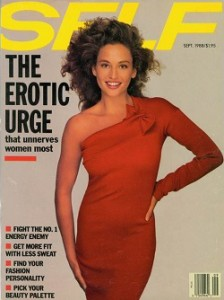 SELF magazine cover sep 1988