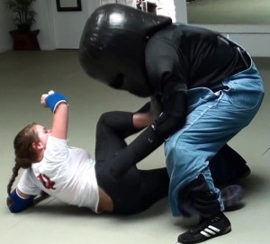 self defense grabbing kicks