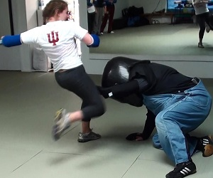 Full Force Self Defense Class for Women